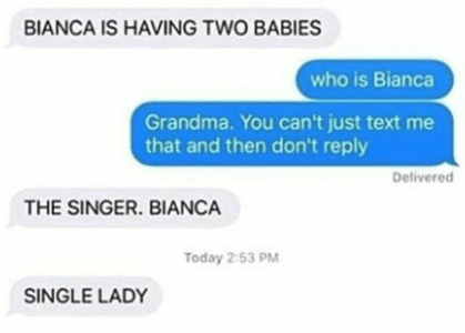 Bianca the Single Lady: