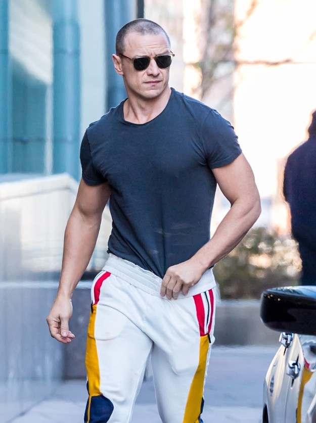 This holiday season, James McAvoy got swole AF (and brought us the greatest early Christmas gift of all).