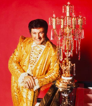 Liberace (and his candelabrum):