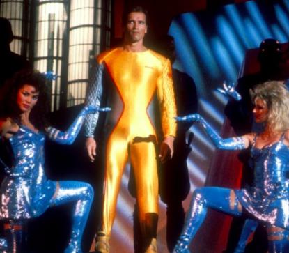 Arnold Schwarzenegger in The Running Man: