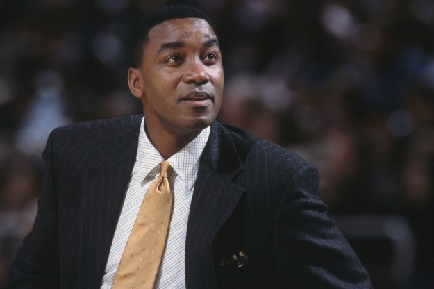 Isiah Thomas, a Hall of Fame player, who coached against Kobe Bryant.