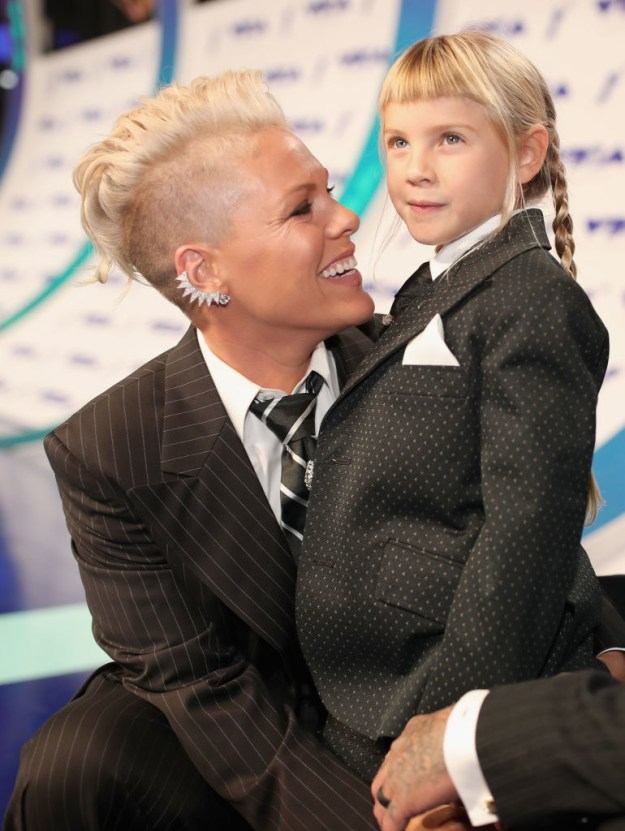 Basically, Pink (and every other mama out there) is a friggin' superhero. THE END.