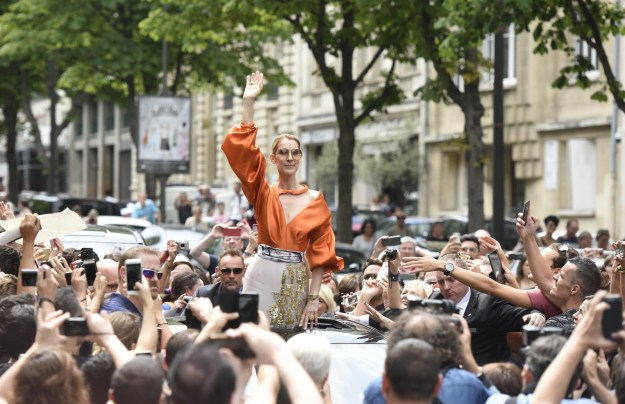 When she literally started a parade as she was leaving her hotel.