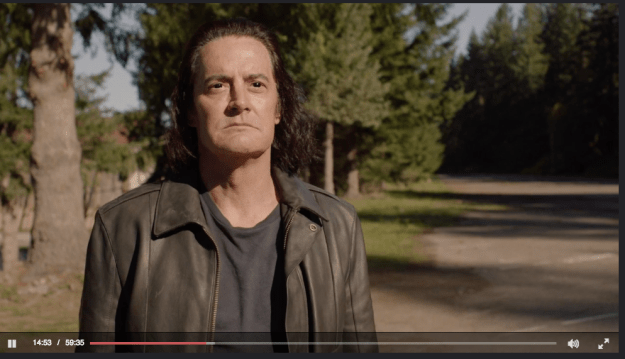 The first scene Kyle MacLachlan shot for the new season of Twin Peaks was actually as Mr. C. (aka, Coop's evil doppleganger).