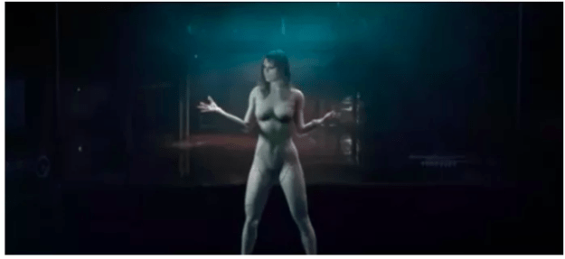 "The video caused controversy at the time, and Taylor appeared to reclaim her naked body in her video for ""...Ready For It"", released in October."