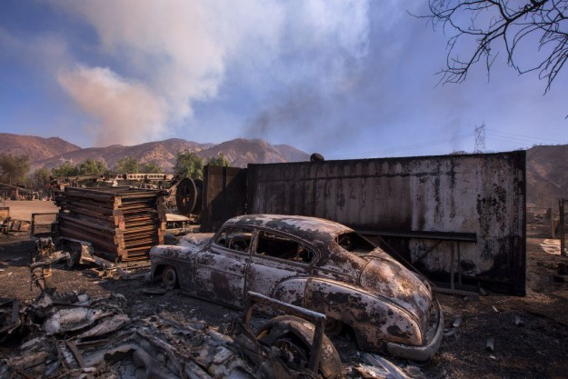 Among the other major fires, the 11,377-acre Creek Fire around the Sylmar neighborhood, which destroyed 15 structures, was 10% contained as of Thursday as firefighters fought high winds, poor access, and steep terrain.