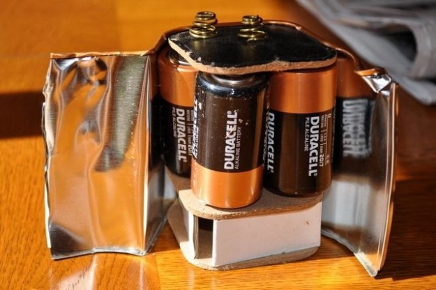 Fun fact: Some big batteries are made from a bunch of little batteries.