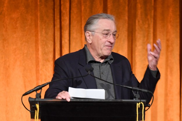 """At the time of [The Post], Donald Trump was suffering from 'bone spurs,'"" De Niro said. ""Today the world is suffering from the real Donald Trump."""