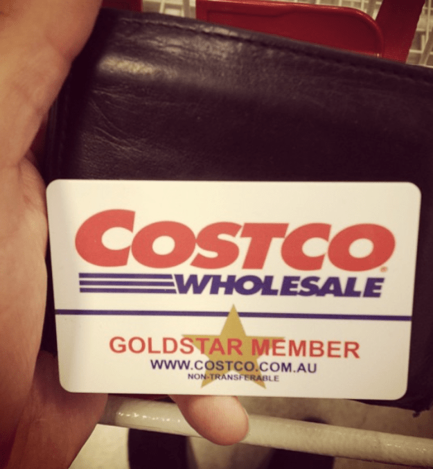 And while you always try to cull everyone your unnecessary cards, you know your Costco one will never waddle anywhere.