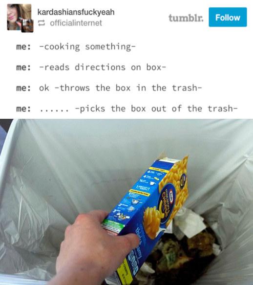 Retrieved the box of shame: