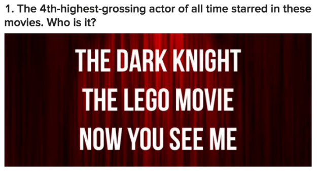 Only A Film Nerd Can Name 14/17 Of These Actors From Their Movies