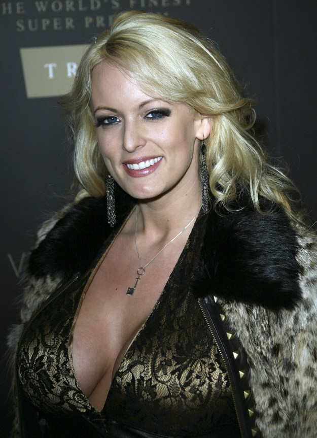 Clifford also appeared at the launch of Trump Vodka in Los Angeles in 2007.