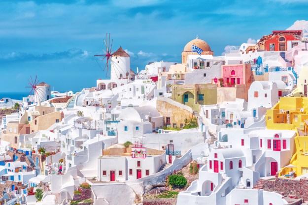 17. Und das griechische Santorin, die fotogenste Inselgruppe der Welt: