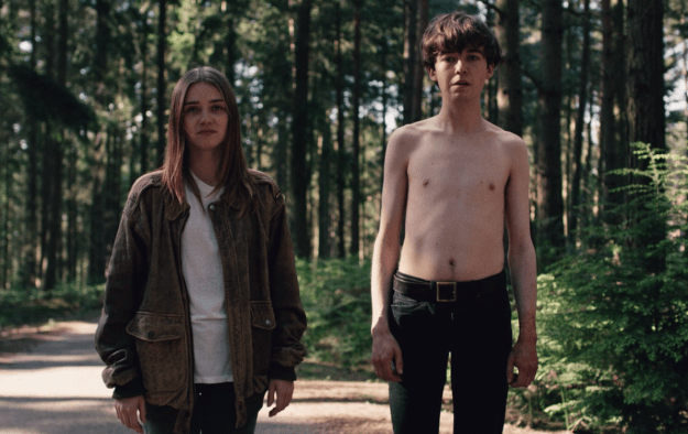 By now you've finished the dark, funny, touching, basically perfect eight-episode series The End of the F***ing World on Netflix and are currently dying for more. Well, great news, my dude: We've gathered some behind-the-scenes photos of the series from our beloved cast (mostly the amazing Jessica Barden) and crew.