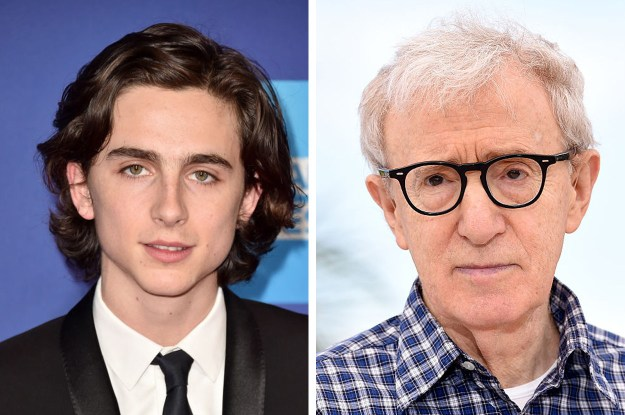 Timothée Chalamet has announced that he will be donating his entire fee for his role in Woody Allen's upcoming film A Rainy Day in New York and has said that he does not want to profit from the movie.