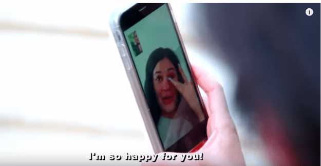 Khloé then Facetimed Kylie – who wasn't at the announcement for some completely unknown reason probably unconnected to her own pregnancy – to tell her the news. She immediately burst into happy tears.