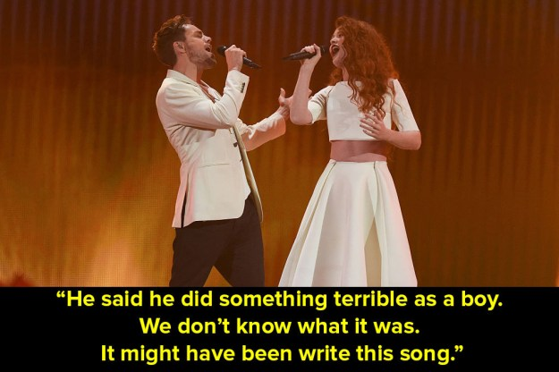When Norway performed at the Eurovision Song Contest in 2015 and Graham tried to decipher their lyrics.