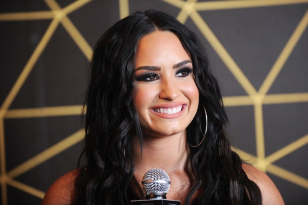 Demi Lovato — former Disney star, powerhouse vocalist, and overall gem. You know her.