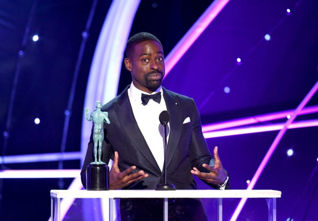 On Sunday, the 41-year-old Missouri native made history during the 24th annual SAG Awards when he became the first black actor to win the Outstanding Performance by a Male Actor in a Drama Series category.