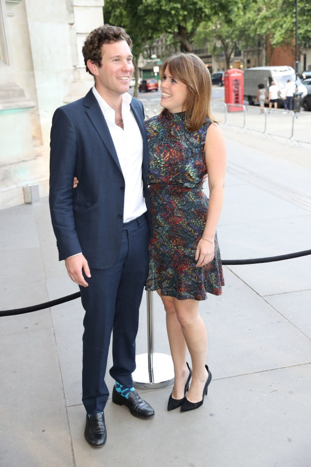 Princess Eugenie, who works as an art gallery director in London, met Brooksbank on a skiing trip, and they've been dating for years.