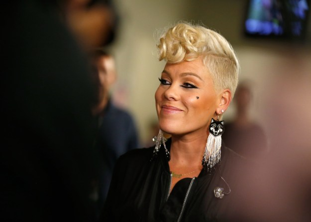 Pink recently revealed that she had recorded a duet with Xtina for the new album. While other rumored collaborators include Thundercat and Janelle Monáe.