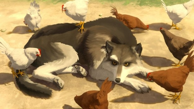 Well, IRL Ron Swanson, aka Nick Offerman, is currently promoting two films at Sundance. One of the films, White Fang, is an animated feature that's told through the eyes of an orphaned dog.
