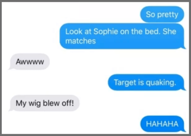 "This mom who misunderstood the phrase ""snatch my wig:"""