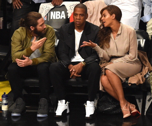 And when he went to an NBA game with Beyoncé because he is truly one of the few people worthy of being in her presence.