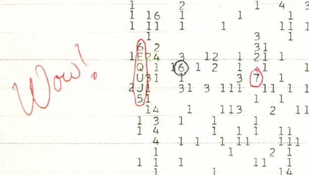 "The ""Wow!"" signal:"