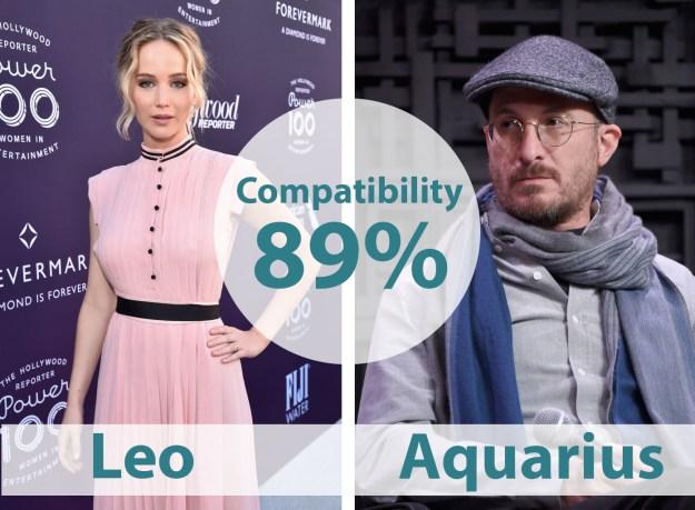 6. Jennifer Lawrence & Darren Aronofsky