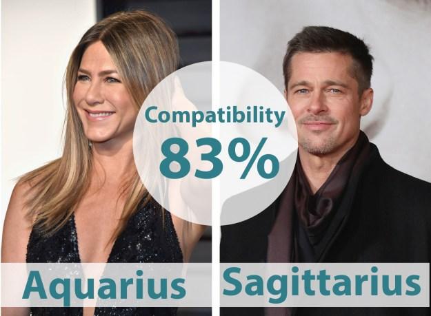 20. Jennifer Aniston & Brad Pitt
