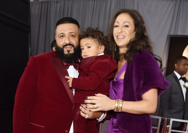 And to give you a lil' dose of happiness during these trying times, let me post a bunch of pics of Asahd on the Grammy red carpet.