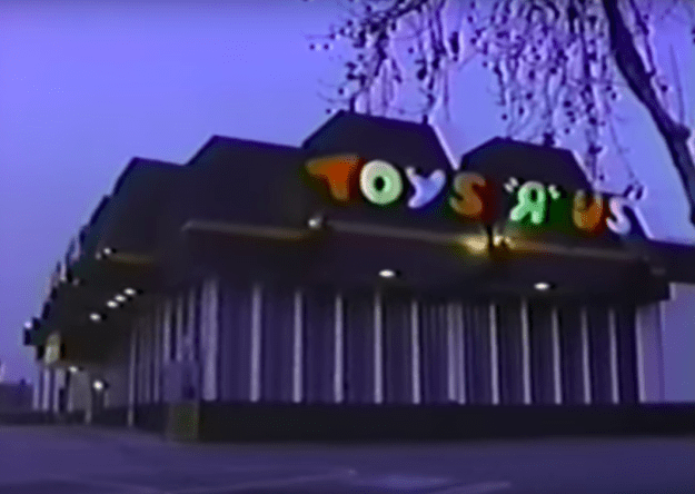 "The hauntings at Toys ""R"" Us in Sunnyvale, California:"