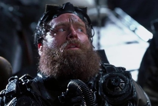 "Zach Galifianakis played ""Weird Wally,"" a deep sea diver in Below in 2002."