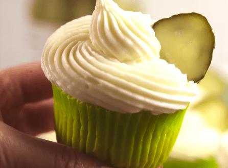Then again, why accomplish something sweet so savory? Did the world need dill pickle cupcakes?