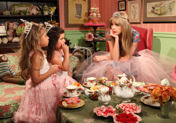 The girls made an initial appearance on The Ellen Show and they were such a hit that they became recurring guests and eventually hosted their own segment called Tea Time With Sophia Grace & Rosie.