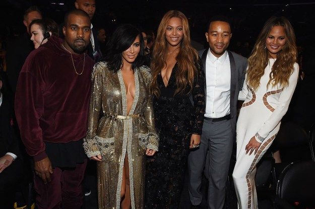 Of course, being married to music royalty herself, Chrissy has met Beyoncé before.