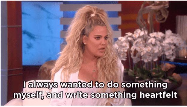 Speaking on The Ellen Show, Khloé revealed exactly why she'd decided to keep the news to herself for so long before announcing her pregnancy just before Christmas.