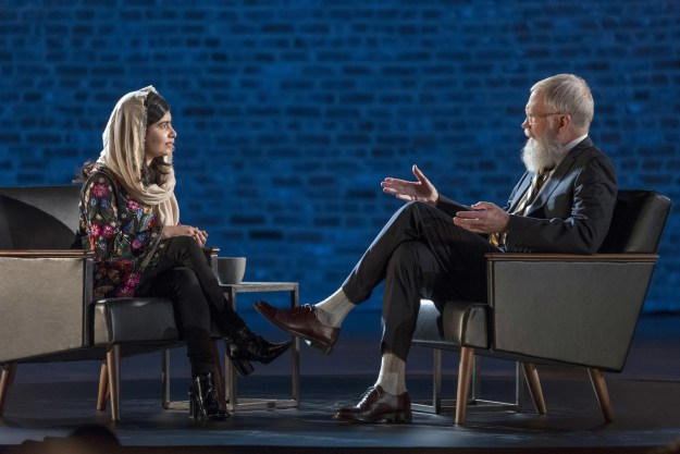 Today, Netflix announced that Letterman's lineup of guests will include George Clooney, Malala Yousafzai, Jay-Z, Tina Fey, Howard Stern...