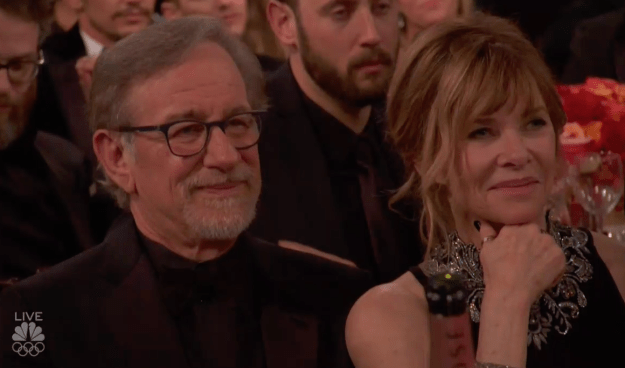 Steven Spielberg and Kate Capshaw: