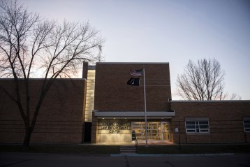 The Ashland County Law Enforcement Center in Ashland, Wisconsin.