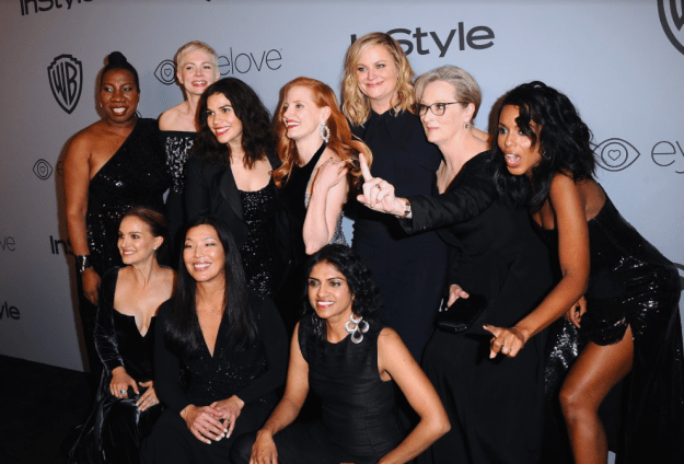 The leaders of the Time's Up movement posed for this seriously badass photo.