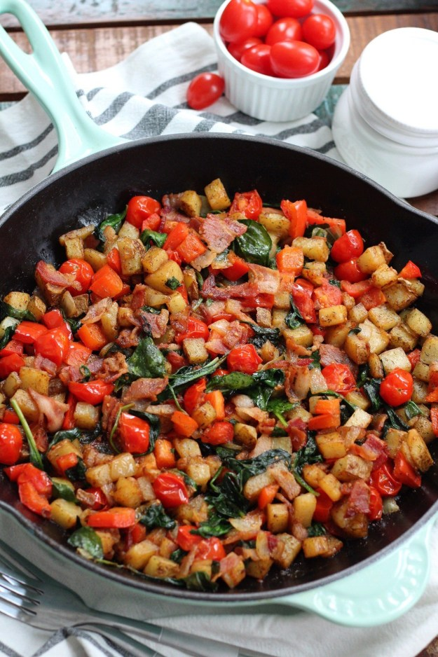 Bacon and Veggie Skillet