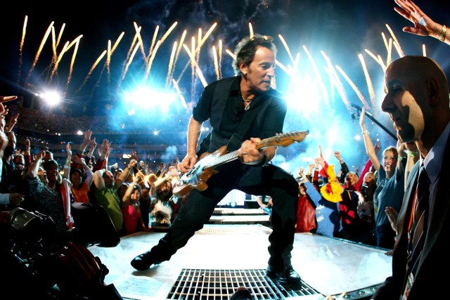 Feb. 1, 2009 — Bruce Springsteen and the E Street Band at Super Bowl XLIII in Tampa