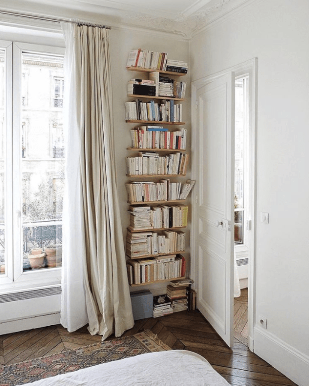 This cozy Parisian apartment looks straight out of a rom-com, and it's currently listed for $141 a night.