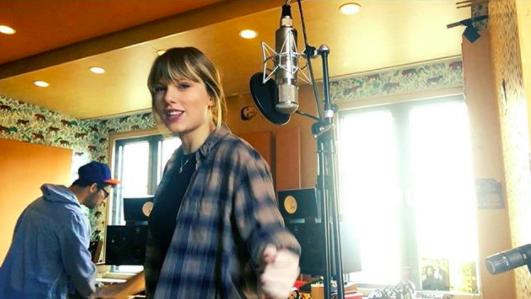 Her music is often the target of leaks — so she has to be extra-cautious about who has access to her recordings before they're made public.