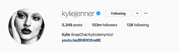 Despite her Instagram account lying virtually dormant, Kylie managed to rack up almost 3 million extra followers in a matter of months, meaning public interest in her has never been so high.