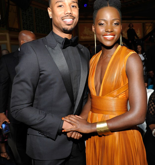 So, I woke up on this beautiful Valentine's Day to discussions about fans wanting my celebrity boyfriend (in my head), Michael B. Jordan, and Lupita Nyong'o to date.