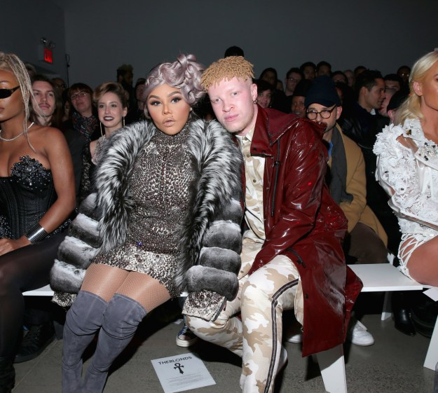 2018: Lil Kim and Shaun Ross.
