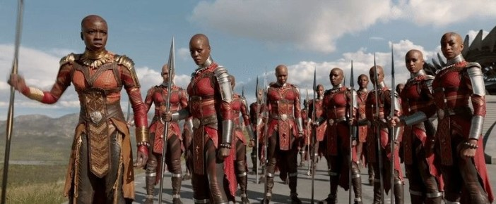 "In an interview, the film's star Lupita Nyong'o said that the women of Wakanda were able to ""realize their full potential."" In large part, women are the brains and the brawn of the movie."